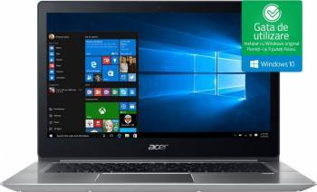 Ultrabook Acer Swift 3 SF314 Intel Core Kaby Lake R (8th Gen) i5-8250U 256GB 8GB Win10 FullHD laptop laptopuri