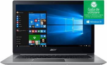 Ultrabook Acer Swift 3 SF314 Intel Core Kaby Lake R (8th Gen) i7-8550U 256GB 8GB nVidia GeForce MX150 2GB Win10 Laptop laptopuri