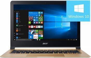 Ultrabook Acer Swift SF713 Intel Core Kaby Lake i7-7Y75 512GB 8GB Win10 FullHD Laptop laptopuri