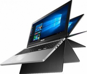 pret preturi Ultrabook 2in1 Asus Transformer Book Flip TP300UA Intel Core Skylake i7-6500U 1TB 4GB Win10 FullHD Touch