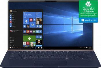 pret preturi Ultrabook ASUS ZenBook 14 Intel Core Whiskey Lake (8th Gen) i5-8265U 256GB SSD 8GB Win10 FHD Royal Blue Metal Resigilat