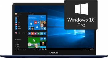 Ultrabook Asus ZenBook Pro UX550VE Intel Core Kaby Lake i7-7700HQ 512B 16GB nVidia GTX1050Ti 4GB Win10 Pro FHD FPR Laptop laptopuri