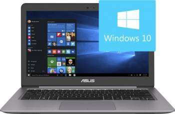 Ultrabook Asus Zenbook UX310UA-FC555T Intel Core Kaby Lake i3-7100U 500GB HDD+128GB SSD 4GB Win10 FullHD Laptop laptopuri