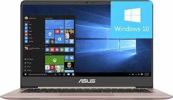 Ultrabook Asus ZenBook UX410UA Intel Core Kaby Lake i7-7500U 1TB HDD+128GB 8GB Win10 FullHD Rose Gold Laptop laptopuri