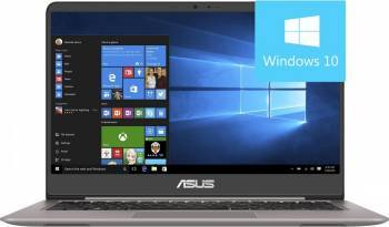 Ultrabook Asus ZenBook UX410UA Intel Core Kaby Lake i7-7500U 1TB HDD+256GB SSD 16GB Win10 FullHD Quartz Grey Laptop laptopuri