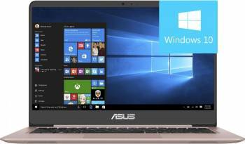 Ultrabook Asus ZenBook UX410UQ Intel Core Kaby Lake i7-7500U 1TB HDD+128GB SSD 8GB nVidia GeForce G940MX 2GB Win10 FHD Laptop laptopuri