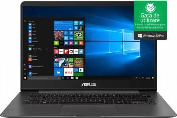 pret preturi Ultrabook Asus ZenBook UX430UA Intel Core Kaby Lake R (8th Gen) i5-8250U 256GB SSD 8GB Win10 Pro FullHD FPR Tastatura ilum. Grey Metal