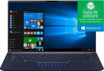 pret preturi Ultrabook Asus Zenbook 14 Intel Core Whiskey Lake (8th Gen) i7-8565U 256GB SSD 8GB nVidia GeForce MX150 2GB Win10 FHD ScreenPad Royal Blue