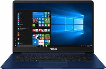 Ultrabook Asus ZenBook UX530UQ Intel Core Kaby Lake i5-7200U 512GB 8GB nVidia GeForce 940MX 2GB Win10 FullHD FPR laptop laptopuri