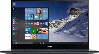Ultrabook Dell XPS 13 9360 Intel Core Kaby Lake R(8th Gen) i7-8550U 512GB 16GB Win10 Pro QHD+ Touch Silver Laptop laptopuri