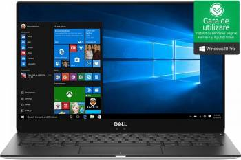 Ultrabook Dell XPS 13 9370 Intel Core Kaby Lake R (8th Gen) i7-8550U 256GB SSD 8GB FullHD Win10 Pro Tast. ilum. Laptop laptopuri