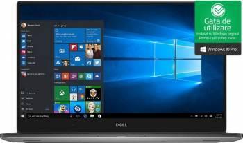 Ultrabook Dell XPS 15 9560 Intel Core Kaby Lake i7-7700HQ 512GB 16GB GTX 1050 4GB FullHD Win10 Pro Tast. ilum. FPR Laptop laptopuri