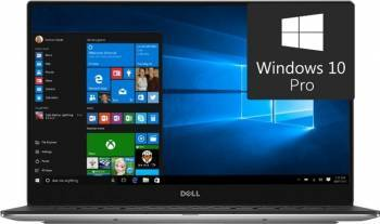 Ultrabook Dell XPS 9360 Intel Core Kaby Lake i7-7500U 256GB 8GB Win10 Pro FullHD Fingerprint Laptop laptopuri