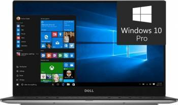Ultrabook Dell XPS 9360 Intel Core Kaby Lake i7-7500U 512GB SSD 16GB Win10Pro QHD+ Touch 3 ani garantie Fingerprint Laptop laptopuri