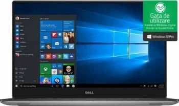 Ultrabook Dell XPS 9560 Intel Core Kaby Lake i7-7700HQ 512GB 16GB nVidia GeForce GTX 1050 4GB Win10 Pro UHD Laptop laptopuri