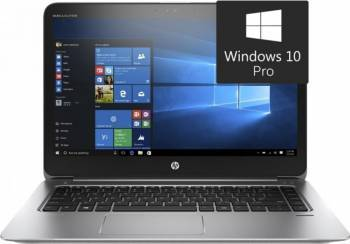 Ultrabook HP EliteBook 1040 G3 Intel Core i7-6500U 256GB 8GB Win10 Pro FullHD Laptop laptopuri