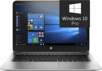 Ultrabook HP EliteBook Folio 1040 G3 Intel Core i7-6500U 256GB 8GB Win10 Pro FullHD Laptop laptopuri