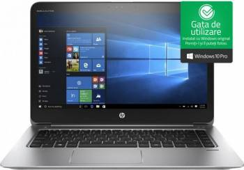 Ultrabook HP EliteBook Folio 1040 G3 Intel Core Skylake i7-6500U 256GB 8GB Win10 Pro FullHD Fingerprint 4G Laptop laptopuri