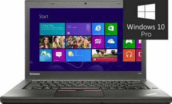 Ultrabook Lenovo ThinkPad T450s i7-5600U 192GB 4GB Win10 Pro FullHD Fingerprint Laptop laptopuri