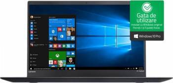 pret preturi Ultrabook Lenovo ThinkPad X1 Carbon Gen5 Intel Core Kaby Lake i7-7500U 256GB SSD 16GB Win10 Pro 4G LTE WQHD Fingerprint