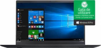 Ultrabook Lenovo ThinkPad X1 Carbon Gen5 Intel Core Kaby Lake i7-7500U 512GB SSD 16GB WQHD Win10 Pro Fingerprint Laptop laptopuri