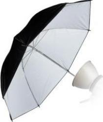 Umbrela Relexie Fancier Alb Mat 103cm