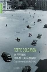 Un personaj care-mi poarta numele - Petre Solomon Carti