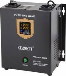 UPS Kemot pentru Centrale Termice SINUS PUR 500W 12V 2 Schuko Afisaj LED UPS