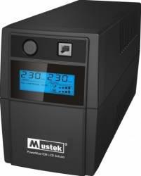 UPS Mustek PowerMust 636 LCD 650VA Schuko