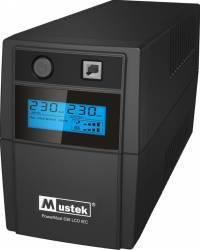 UPS Mustek PowerMust 636 LCD C0636 650VA UPS