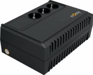 UPS nJoy Renton 650 650VA/360W 3 Prize Schuko cu protectie UPS