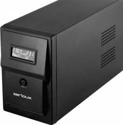 UPS Serioux Line Interactive 600VA/360W 2 Schuko UPS