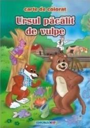 Ursul pacalit de vulpe - Carte de colorat ed. 2012 2.5