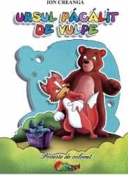 Ursul Pacalit De Vulpe - Ion Creanga - Poveste De Colorat