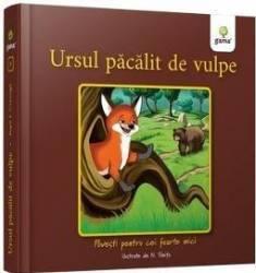 Ursul pacalit de vulpe - Povesti pentru cei foarte mici