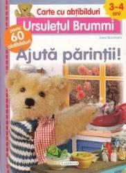 Ursuletul Brummi Ajuta parintii 3-4 ani - Lieve Boumans Carte cu abtibilduri