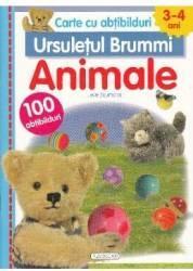 Ursuletul Brummi Animale 3-4 ani - Lieve Boumans Carte cu abtibilduri