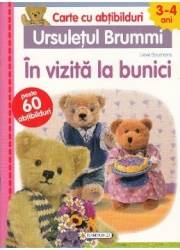 Ursuletul Brummi In vizita la bunici 3-4 ani - Lieve Boumans Carte cu abtibilduri