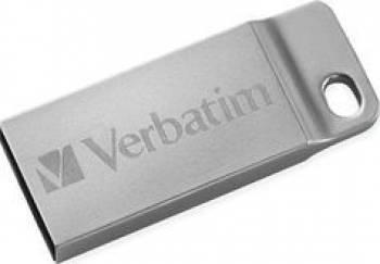 USB Drive Verbatim Metal 32 GB Silver USB Flash Drive