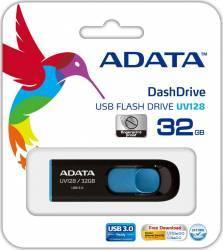 USB Flash Drive ADATA DashDrive UV128 32GB USB 3.0 Negru-Albastru USB Flash Drive