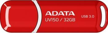 USB Flash Drive ADATA DashDrive Value UV150 32Gb USB 3.0 Red USB Flash Drive