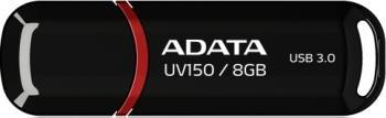 USB Flash Drive ADATA DashDrive Value UV150 8GB USB 3.0 Black
