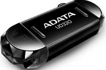 USB Flash Drive ADATA UD320 OTG 32GB USB 3.0 Negru