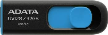 USB Flash Drive ADATA UV128 8GB USB 3.0 Negru