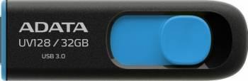 USB Flash Drive ADATA UV128 8GB USB 3.0 Negru