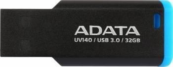 USB Flash Drive Adata UV140 32GB USB 3.0 Negru-Albastru