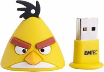 USB Flash Drive Emtec Angry Birds A102 Yellow Bird 4GB USB 2.0