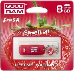 USB Flash Drive Goodram 8GB USB 2.0 Fresh Stawberry