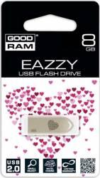 USB Flash Drive Goodram Eazzy USB 2.0 8GB Argintiu