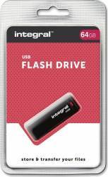 USB Flash Drive Integral 64GB USB 3.0 Negru USB Flash Drive